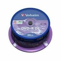 Диск DVD+R Verbatim 43757