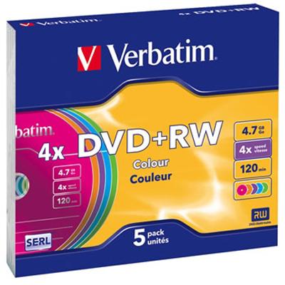 диск DVD+RW Verbatim 43297