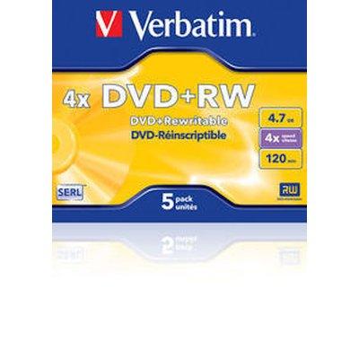диск DVD+RW Verbatim 43229