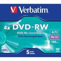 Диск DVD-RW Verbatim 43285