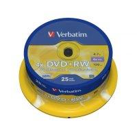 Диск DVD+RW Verbatim 43489