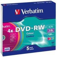 Диск DVD-RW Verbatim 43563