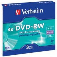 Диск DVD-RW Verbatim 43635
