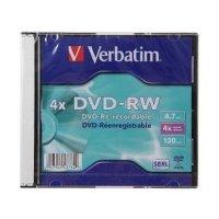 Диск DVD+RW Verbatim 43764