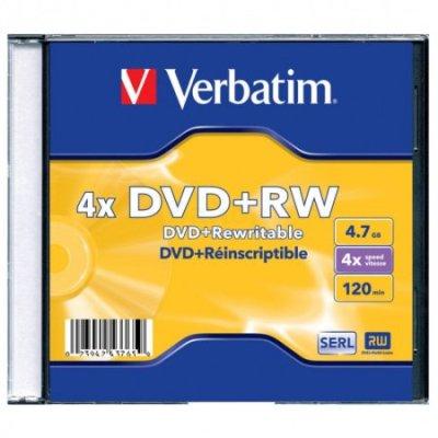 диск DVD+RW Verbatim 43765
