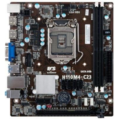 материнская плата EliteGroup ECS H110M4-C23