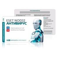 Антивирус ESET NOD32 NOD32-ENA-1220CARD3-1-1