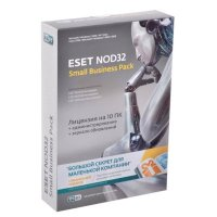 Антивирус ESET NOD32 NOD32-SBP-NS-CARD-1-10