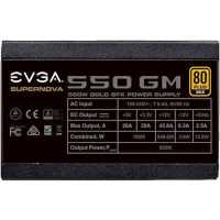 Блок питания EVGA SuperNOVA 550 GM 550W 123-GM-0550-Y2