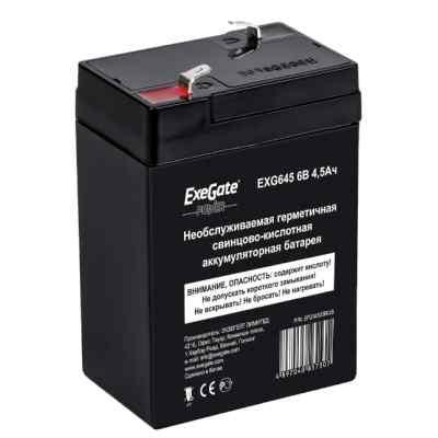 батарея для UPS Exegate EG4.5-6