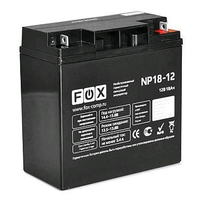 батарея для UPS Fox NP18-12