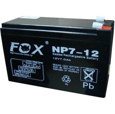 батарея для UPS Fox NP7-12