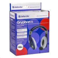 Гарнитура Defender Gryphon HN-750 Blue
