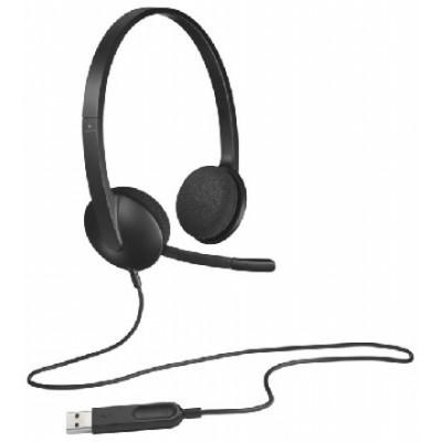гарнитура Logitech Headset H340 981-000475