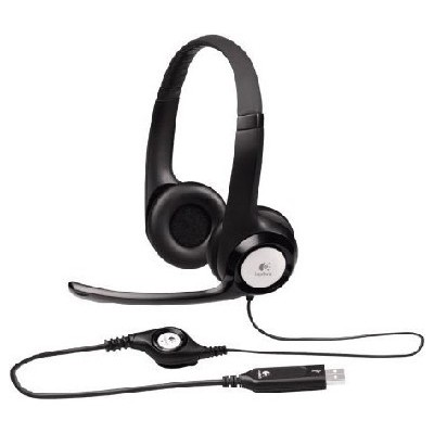 гарнитура Logitech Headset H390 981-000406