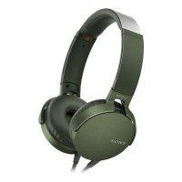 Гарнитура Sony MDR-XB550AP Green