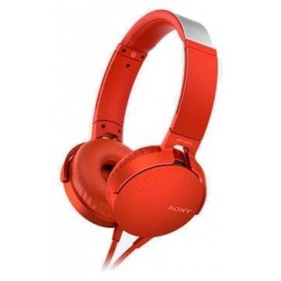 гарнитура Sony MDR-XB550AP Red