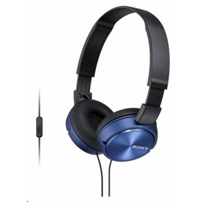 гарнитура Sony MDR-ZX310AP Blue