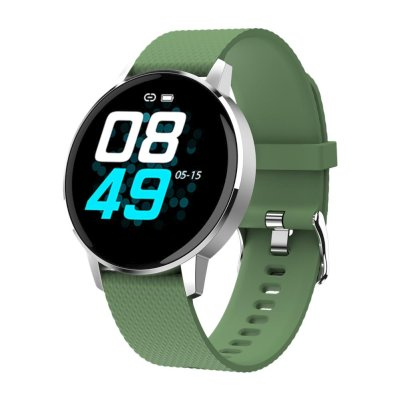 умные часы Geozon Sky Silver-Green G-SM07SVRG