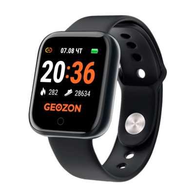 умные часы Geozon Sprinter Black G-SM11BLK