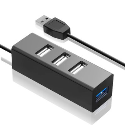 разветвитель USB Ginzzu GR-339UB