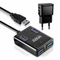Разветвитель USB Ginzzu GR-384UAB