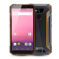 Смартфон Ginzzu RS9602 Black-Orange