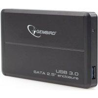 Контейнер для жесткого диска Gembird EE2-U3S-2 Black