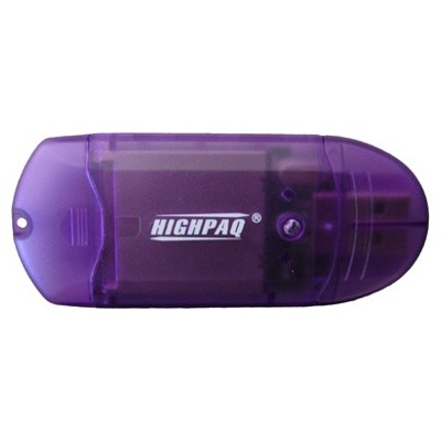 картридер HighPaq 48-in-1 Purple