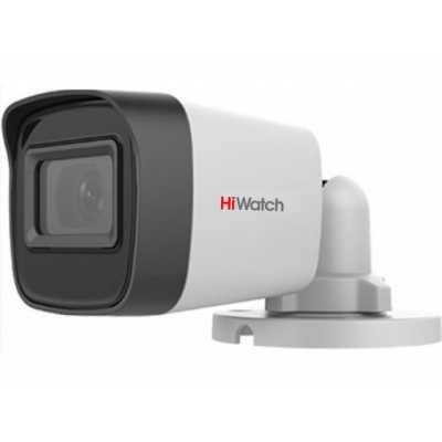 аналоговая видеокамера HiWatch DS-T500(С)-2.4MM