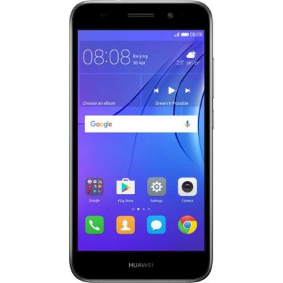 Huawei Y3 2017 3G Grey купить смартфон Huawei Y3 2017 3G Grey цена в интернет магазине KNS