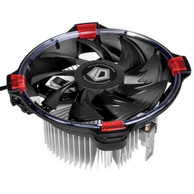 кулер ID-Cooling DK-03 Halo AMD Red