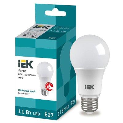 лампа светодиодная IEK LLE-A60-11-230-40-E27