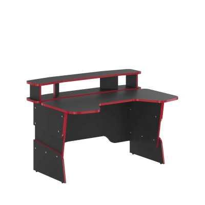 игровой стол Skyland SKILL STG 1390 Антрацит-Красный