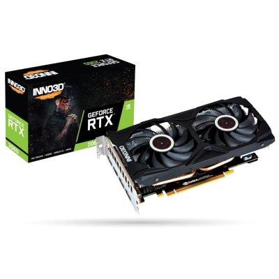 видеокарта Inno3D nVidia GeForce RTX 2060 6Gb N20602-06D6X-1710VA15LB
