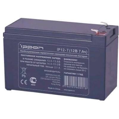 батарея для UPS Ippon IP12-7 12V/7AH
