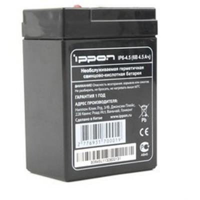 батарея для UPS Ippon IP6-4.5 6V/4.5Ah