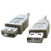 Кабель удлинительный Gembird CC-USB2-AMAF-10
