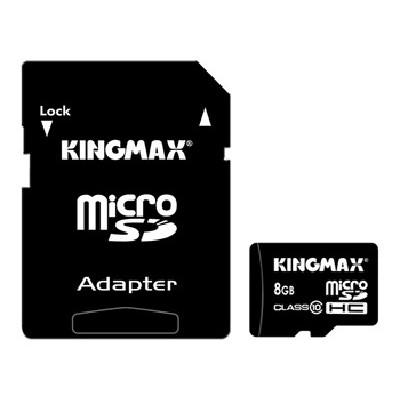 карта памяти Kingmax 8GB KM08GMCSDHC101A