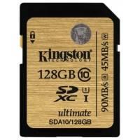 Карта памяти Kingston 128GB SDA10-128GB