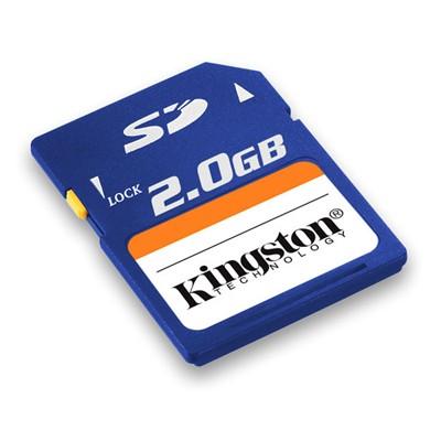 карта памяти Kingston 2GB SecureDigital Card