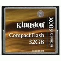 Карта памяти Kingston 32GB CF-32GB-U3