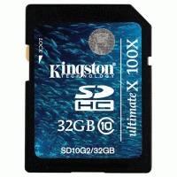 Карта памяти Kingston 32GB SD10G2-32GB