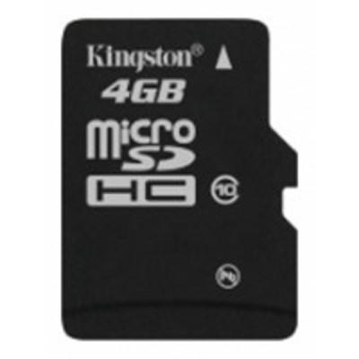 карта памяти Kingston 4GB SDC10-4GBCP