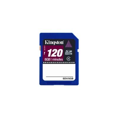 карта памяти Kingston 8GB Class 4 SDV-8GB