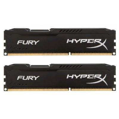 оперативная память Kingston HyperX Fury Black HX313C9FBK2/16
