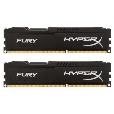 оперативная память Kingston HyperX Fury Black HX318C10FBK2/8