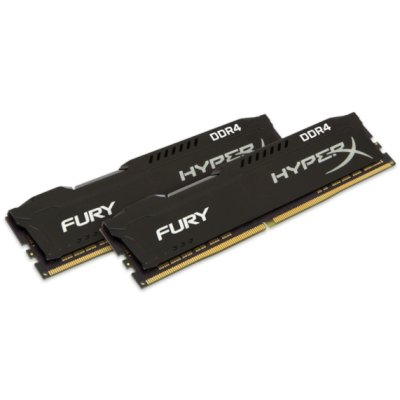 оперативная память Kingston HyperX Fury Black HX424C15FB3K2/32
