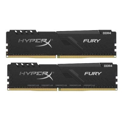 оперативная память Kingston HyperX Fury Black HX426C16FB3K2-16