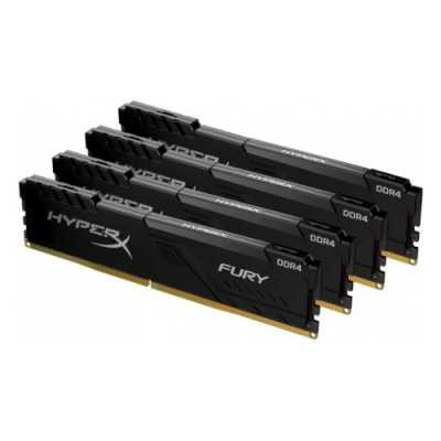 оперативная память Kingston HyperX Fury Black HX430C16FB4K4/64